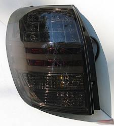 Диодные LED фонари тюнинг оптика Chevrolet Captiva (07-15) тонированные