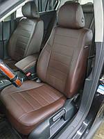 Авточехлы Renault Duster (Рено Дастер) экокожа + перфорация