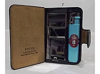 Портсигар-портмоне+зажигалка на 20 сигарет