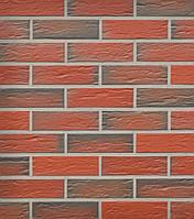 Клинкерная плитка Roben Rhon кирпично-красный, мерейный