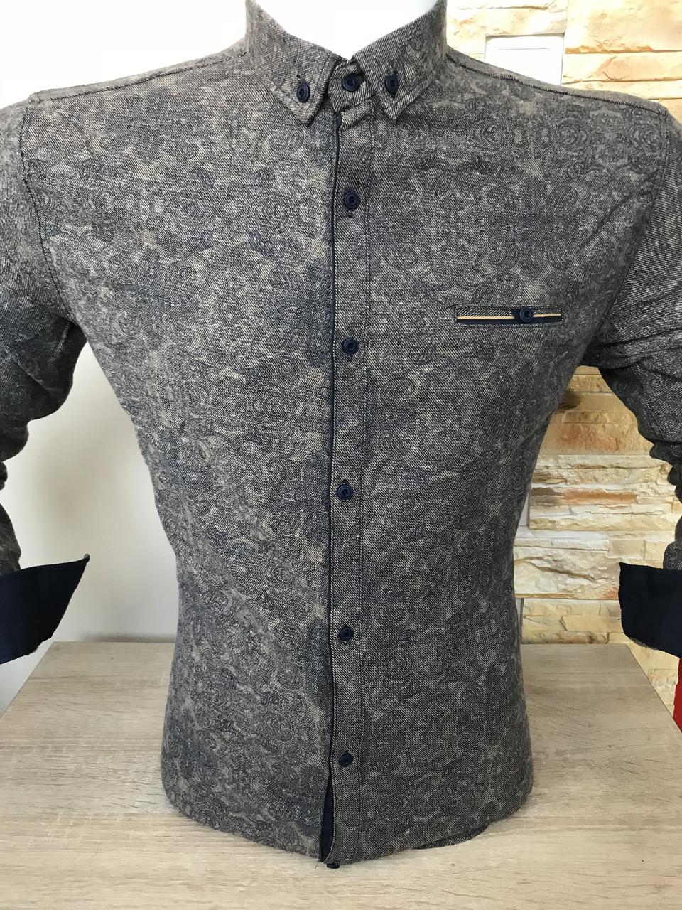 Теплая кашемировая рубашка G-port