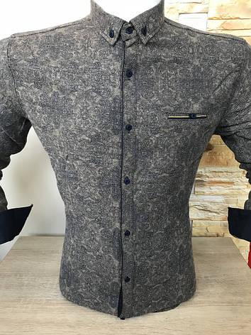 Теплая кашемировая рубашка G-port, фото 2