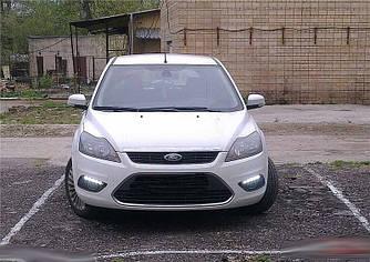 Рамки ВТФ з DRL в бампер Ford Focus mk2 (2009-2010)