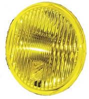 Фара противотуманная ВАЗ 2101 желтая (универсальная круглая с защитной крышкой) (2101.3743-06)  (ОСВАР)