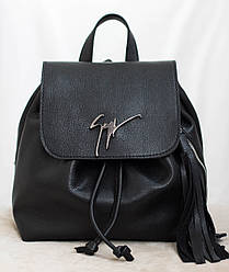 Акция! Женский кожаный рюкзак Giuseppe Zanotti. Натуральная кожа!