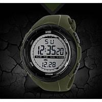 Skmei 1025 Dive зеленые мужские спортивные часы., фото 1