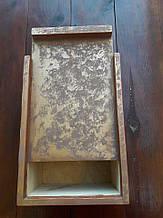 Ящик дерев'яний декоративний з кришкою