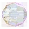 Круглые хрустальные бусины Preciosa (Чехия) 3 мм Crystal AB