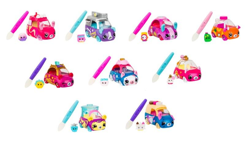 Машинка Shopkins Cutie Cars  S3 Меняем цвет 57400, фото 1