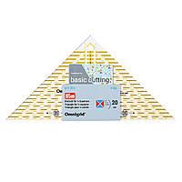 «Проворный» треугольник Prym 611313 с сантиметровой шкалой для квадрата до 20 см, фото 1