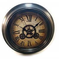 Часы большие на стену из дерева