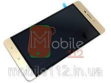 Модуль для Xiaomi Redmi 4 (Дисплей + тачскрин), золотой оригинал PRC