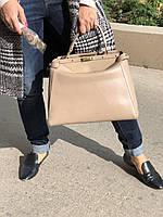 Стильная женская сумка FENDI 32 см  (реплика), фото 1