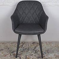 Zaragoza (Сарагоса) кресло кожзам серый, фото 1