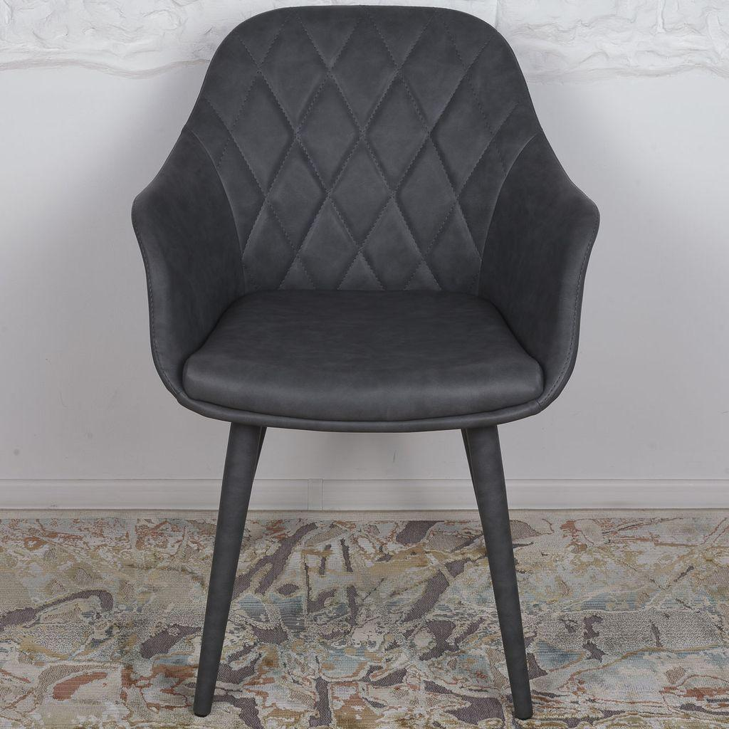 Zaragoza (Сарагоса) кресло кожзам серый