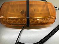 Световая панель  LED - 640-12-24V , мигалка оранжевая., фото 1
