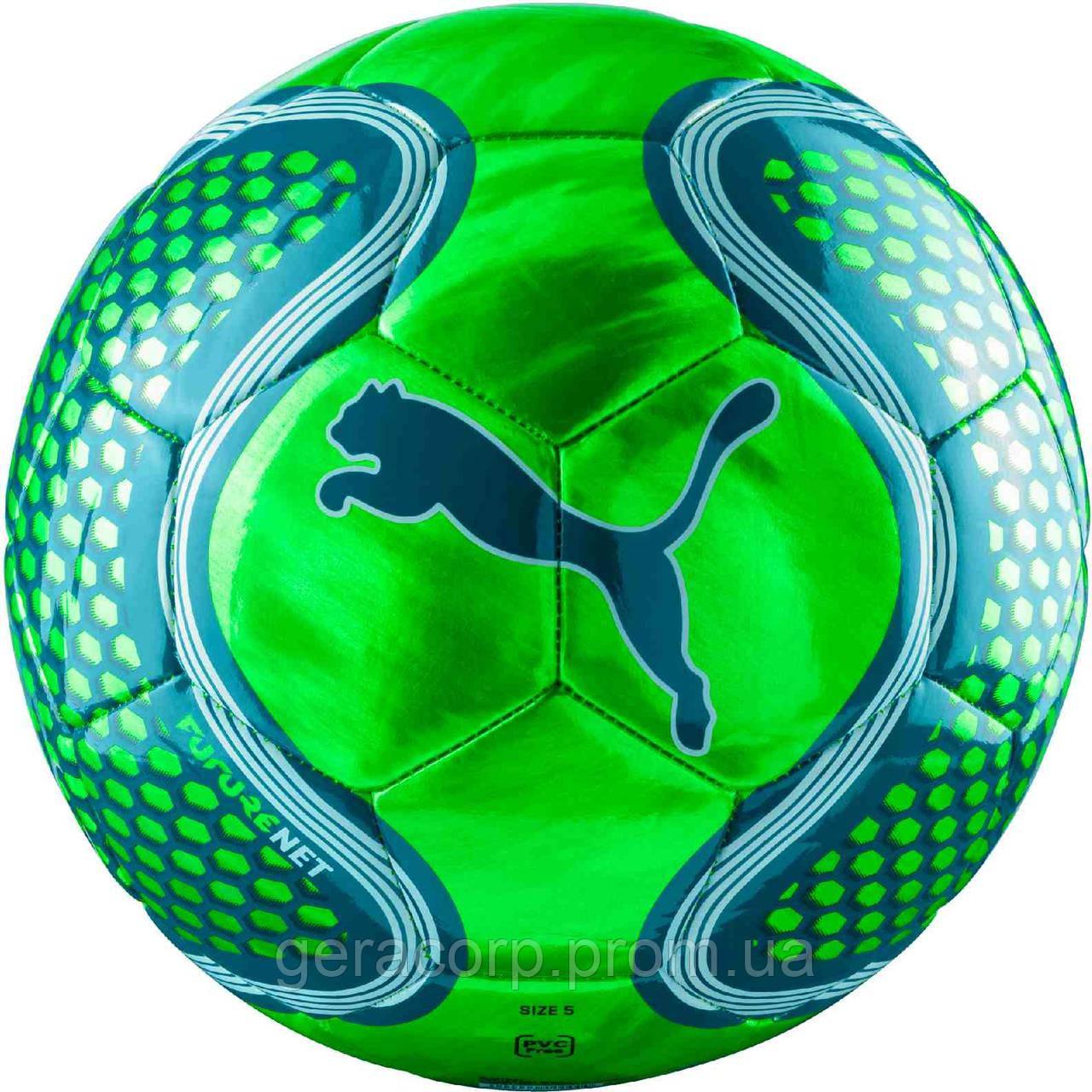 Мяч Puma Future net ball green size 5