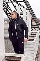 Мужская зимняя курточка Nike, найк, Реплика