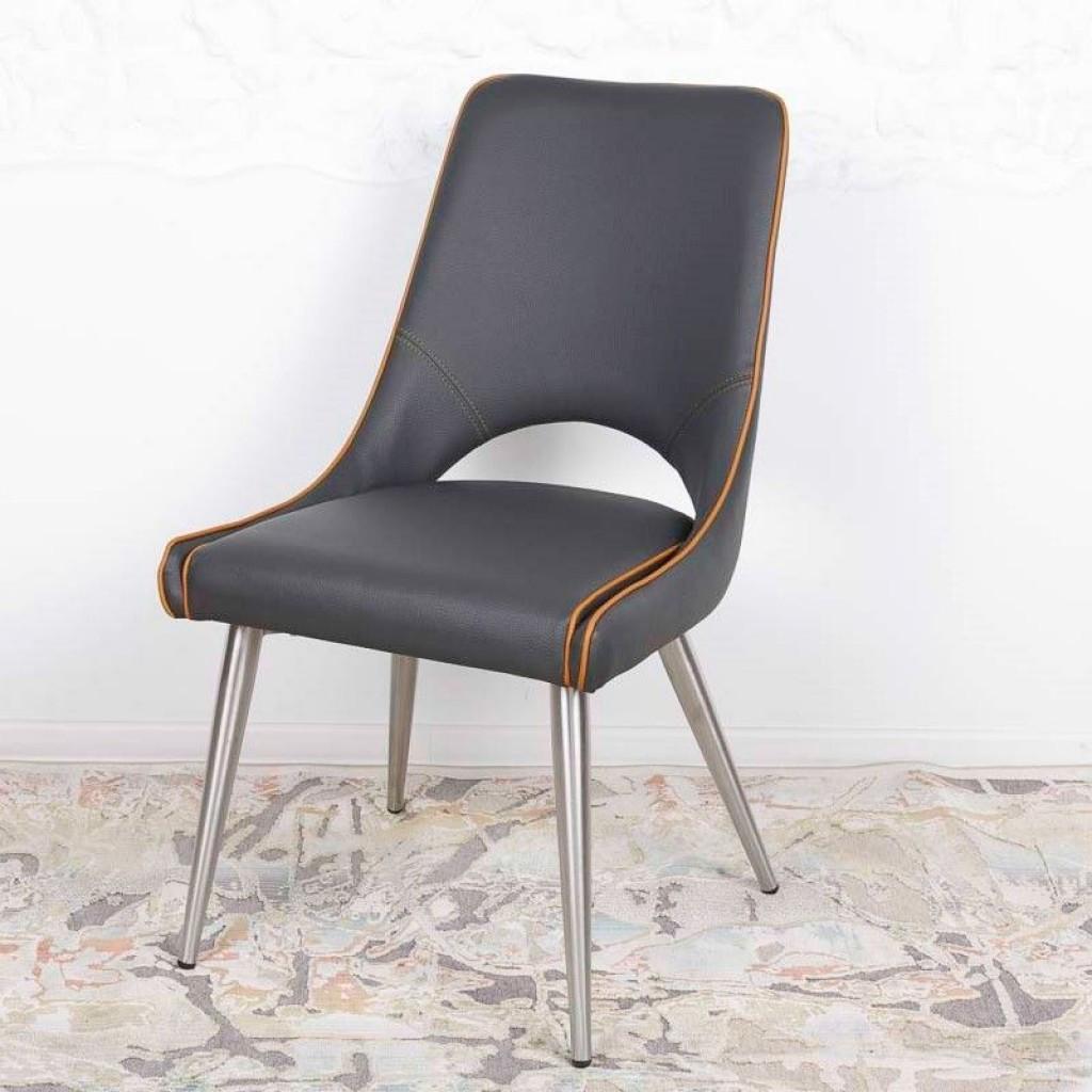 Orange (Оранж) стул кожзам серый
