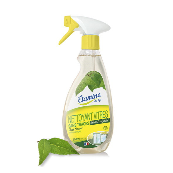 Органическое средство для чистки стекол и зеркал Etamine du lys,500 мл