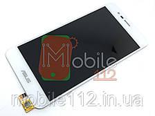 Модуль для Asus ZenFone 3 Max ZC520TL X008D (Дисплей + тачскрин), белый оригинал PRC