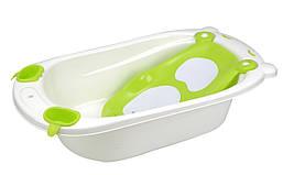 Ванночка Мишка Babyhood зеленая (BH-307G)