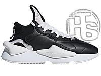 Мужские кроссовки Adidas Y-3 Kaiwa Black/White BC0908