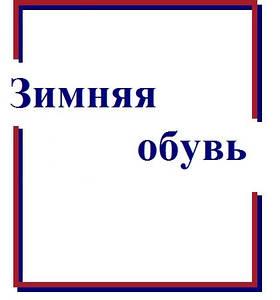 """Смотреть каталог """"Зимняя обувь"""""""