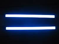 """Дневные ходовые огни LED COB """"BLUE"""" 17см (синие), фото 1"""