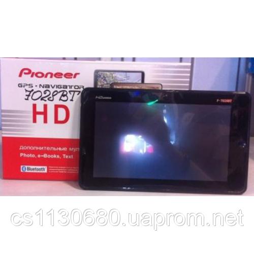 "GPS навигатор Pioneer 7"" 7028TV экран 7 с TV"