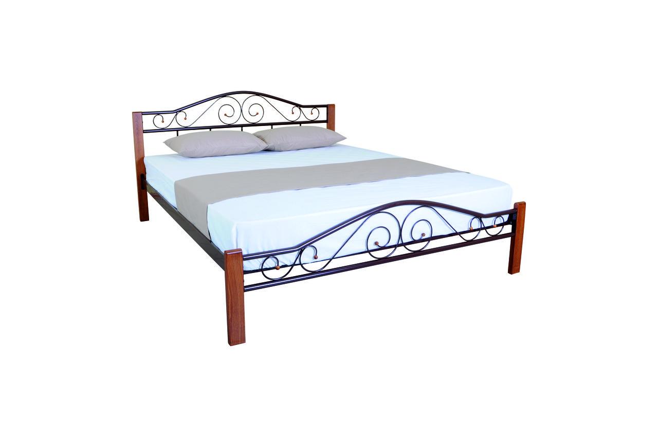 Кровать Элис Люкс Вуд двуспальная - фото 3