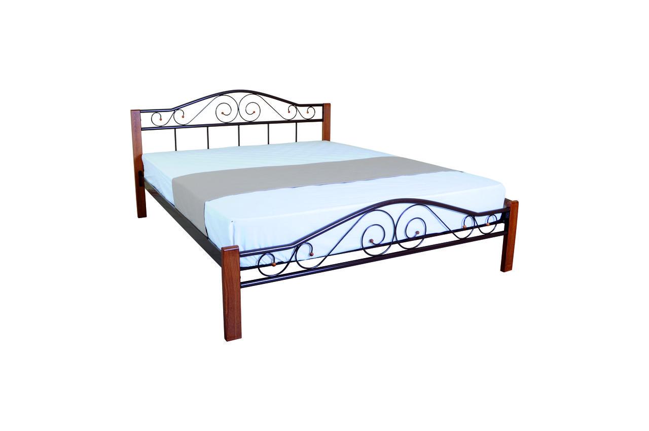 Кровать Элис Люкс Вуд двуспальная - фото 4