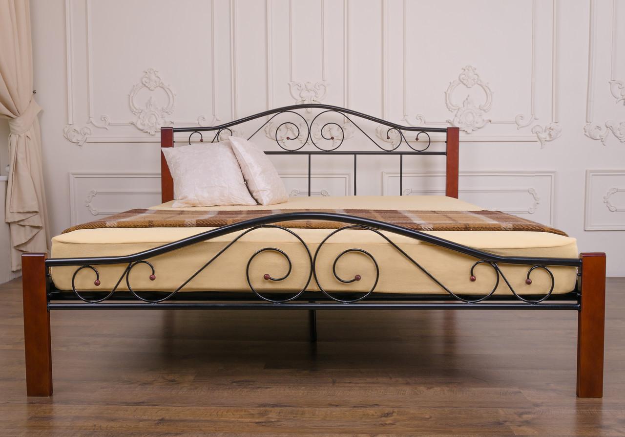 Кровать Элис Люкс Вуд двуспальная - фото 5