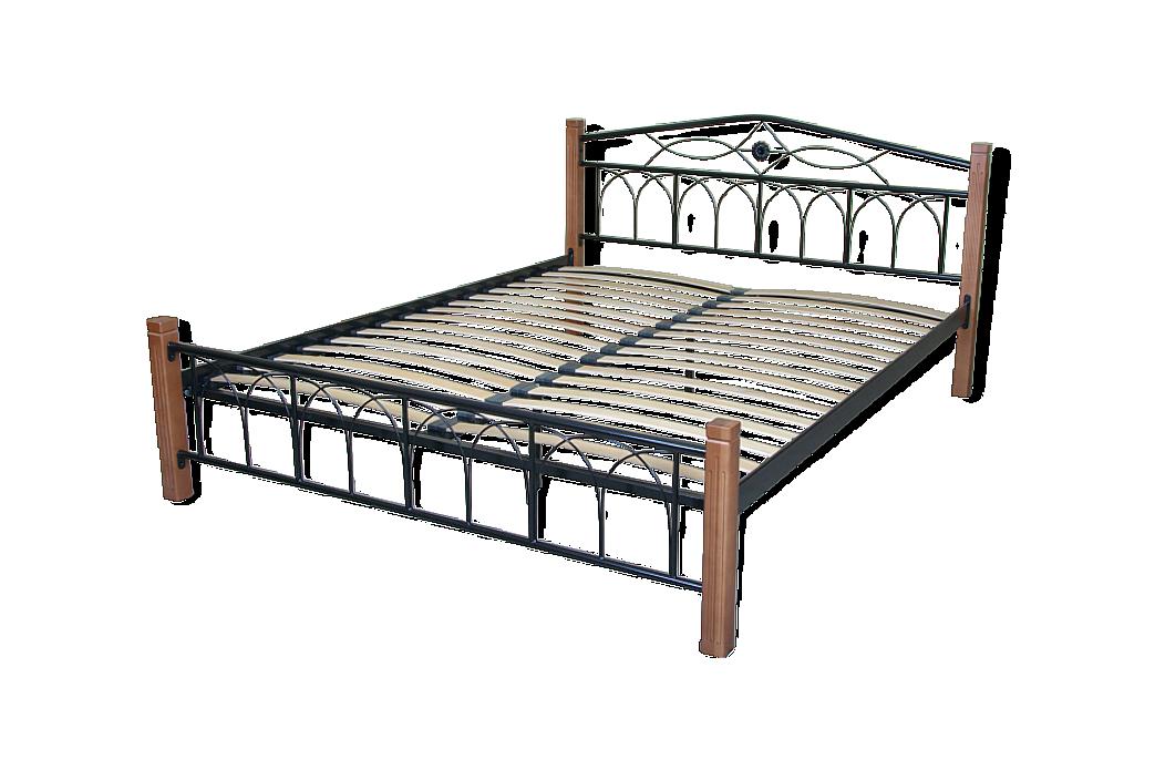 Кровать Элис Люкс Вуд двуспальная - фото 7