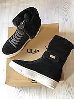 Женские угги UGG Australia со шнуровкой (реплика)