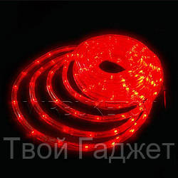 ОПТ/Розница Гирлянда дюралайт LED красного цвета 20 метров