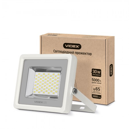 LED прожектор VIDEX PREMIUM 30W VL-F305W White