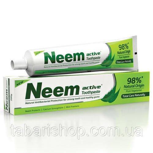Зубная паста  Ним Активный, Toothpaste Neem Active, 200г