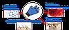Перчатка для вычесывания шерсти у животных TRUE TOUCH, фото 3