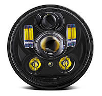 Фара мото LED 5,75 дюймів DL-557F, Harley-Davidson, Dyna, Street, Sportster, 883