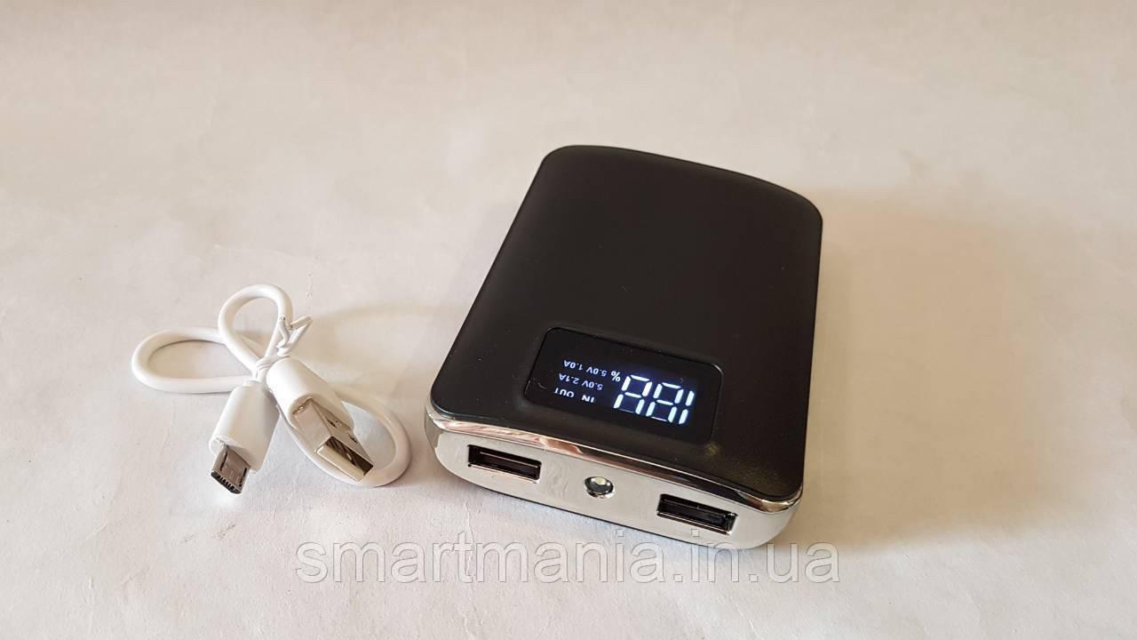 PowerBank Портативный Внешний аккумулятор УМБ ER-11200 ( 11200mAh) с фонариком и дисплеем