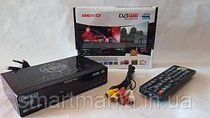 Цифровий ефірний тюнер Т2 DV3 T777 IPTV + YouTube + WIFI + 4k