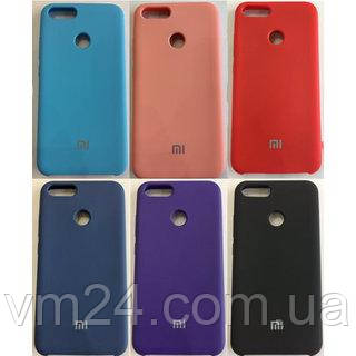 Чехол-бампер Xiaomi Silicone Case для Xiaomi 6 Оригинал подарок Стекло 9Н