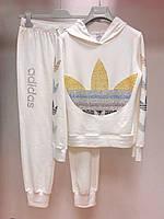 Костюм спортивный Adidas белый