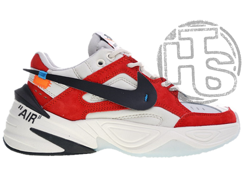 db2f3263 Мужские Кроссовки Nike M2K Tekno X Off-White White/Red A03108-060 ...