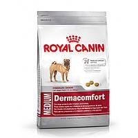 Корм для собак с чувствительной кожей Royal Canin Medium Dermacomfort