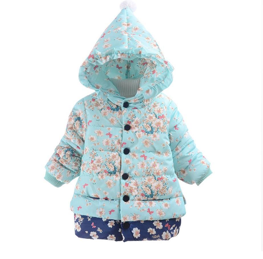 Куртка для девочки на холодную осень