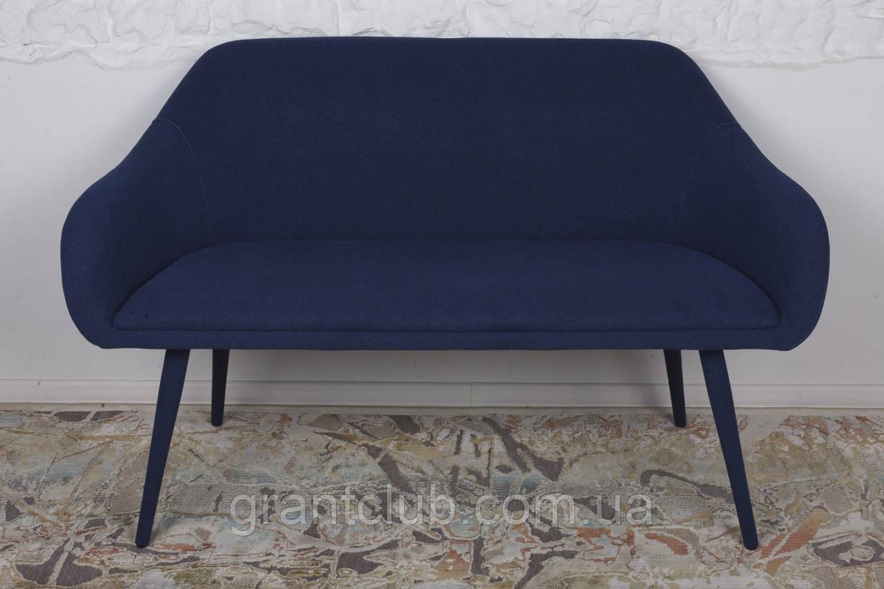 Банкетка MAIORICA (Майорка) текстиль темно-синий 131 см, Nicolas (бесплатная адресная доставка)