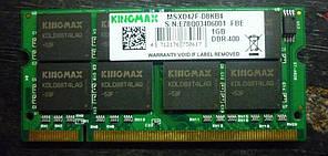 Оперативная память SoDDIM (озу/ram) DRR-1 1Гб 333-400 MHz PC-2700