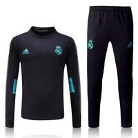 Тренировочный костюм Реал Мадрид черный 17/18